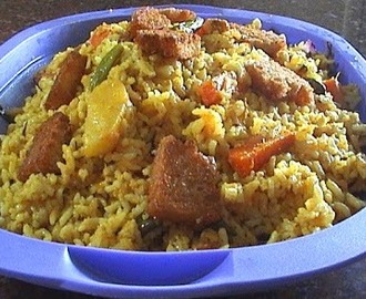 Seepla Vegetable Biriani - A Spicy Vegetable Rice