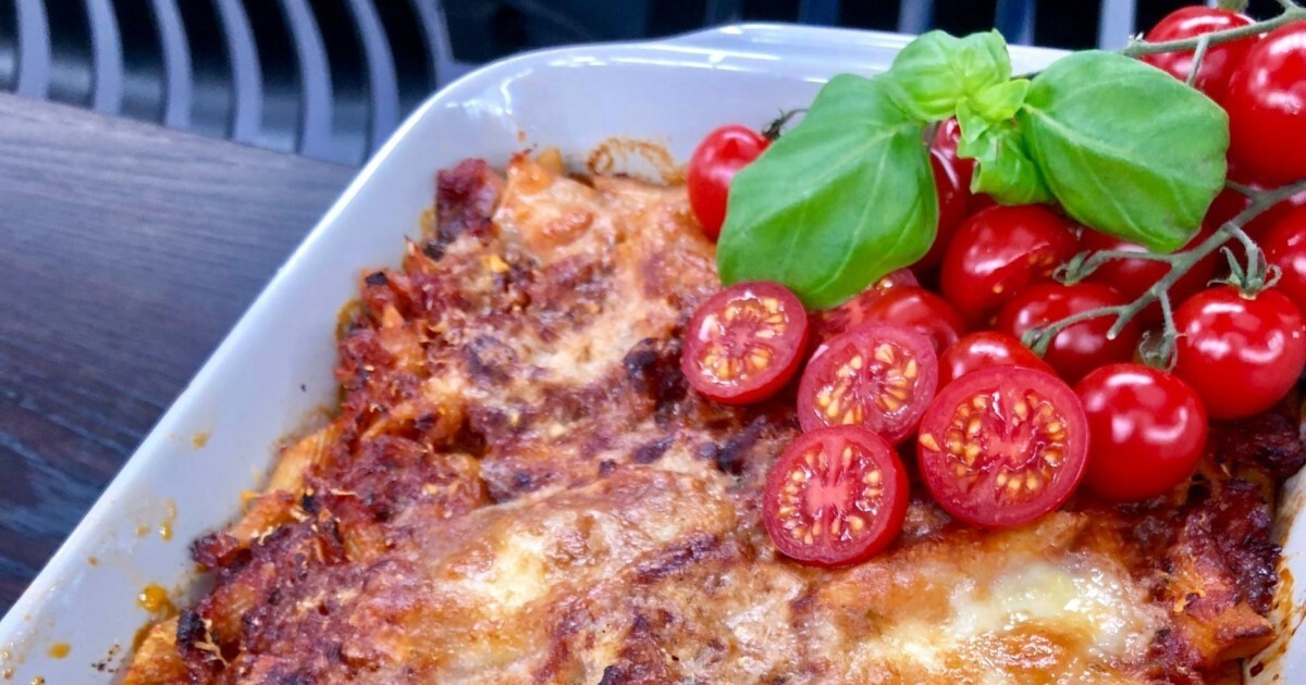 Wenches italienske pastagrateng