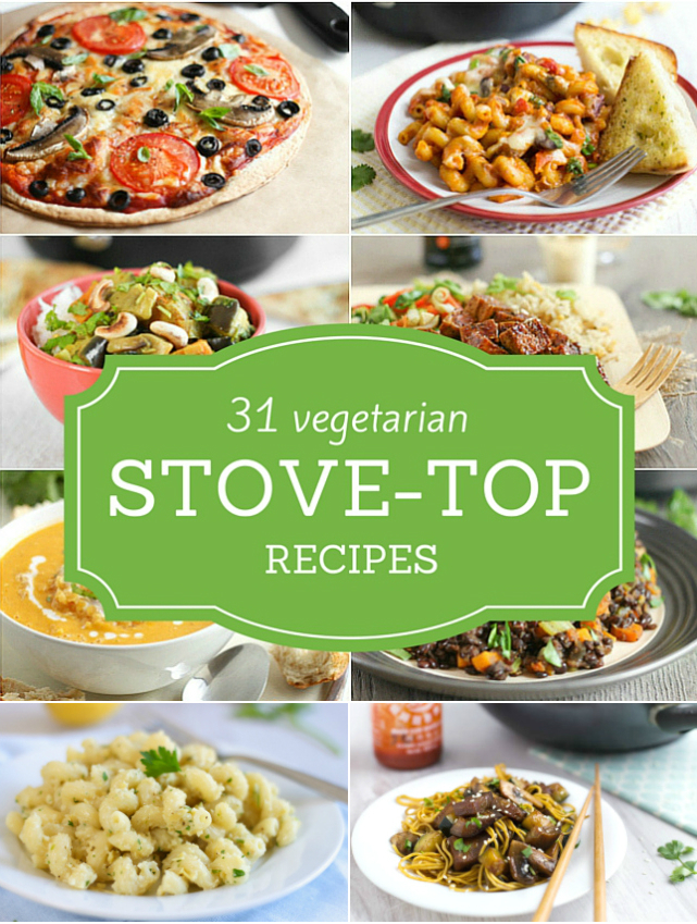 31 vegetarian stove-top recipes