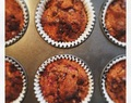 Feijoa, Raspberry, and Dark Chocolate Muffins