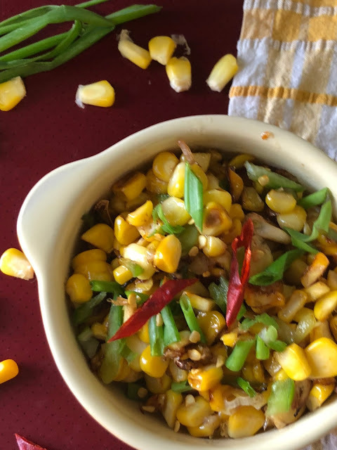 Esquites | Mexican Warm Corn Salad (Street Food)