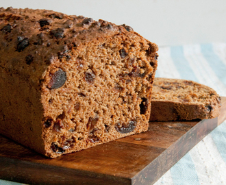 Guilt-free Bran Fruit Loaf