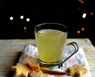 Tisana de gengibre e laranja/ Ginger and orange tea
