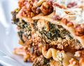 Vegan Lasagna with Spinach Tofu Ricotta