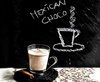 Chocolate Quente Mexicano/ Hot Mexican Chocolat
