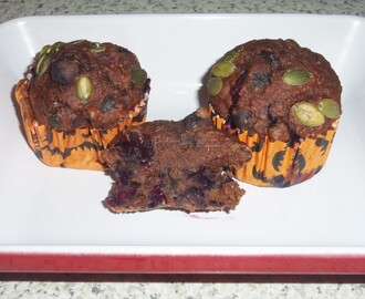 Healthy Fruity Muffins
