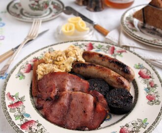 Breakfast Week Meal Plan: Baked Full English Breakfast Recipe and 5:2 Diet Breakfast Ideas