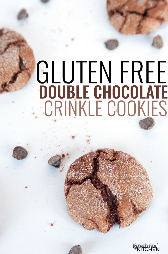 Gluten Free Double Chocolate Cookies #compromisefree