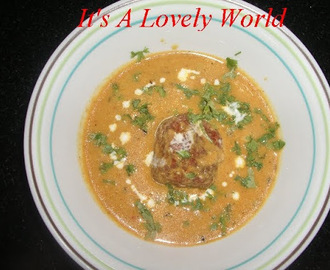 Cottage Cheese Kofta Curry