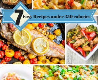 7 Low Calorie Recipes For a Healthy Week!