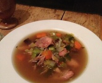 Scottish heritage recipes – Cock a leekie soup
