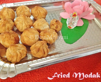 Fried Modak | Maida Kozhukattai | Ganesh Chaturthi Recipes