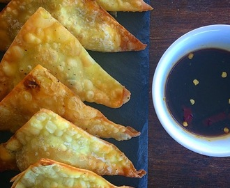 Chilli Pork and Coriander Wontons