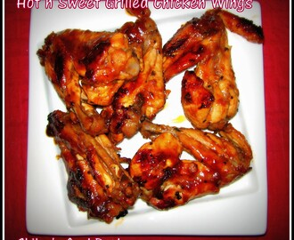 Hot 'n' Sweet Grilled Chicken Wings