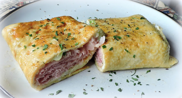 Ham, Cheese & Egg Breakfast Roll Ups