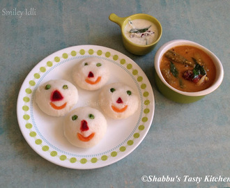 Smiley Idli