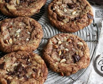 Coffee House Cookies – Chocolate Nutella Hazelnut Cookies