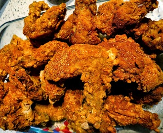 Recipe | Spicy, Fried Chicken Wings