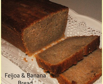 Feijoa Banana Bread