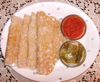 Panpolo or Neer Dosa (Rice n water Pancakes)