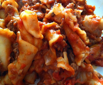 Homemade 'Hamburger Helper'
