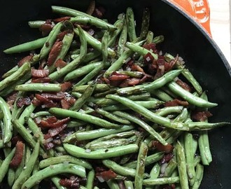 Heidi's Bacon Green Beans