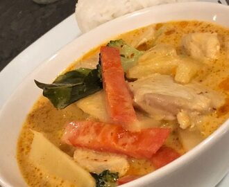 Thai red curry – Gaeng Ped