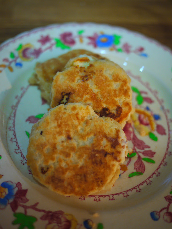 Happy St David's Day and White Chocolate Welsh Cakes