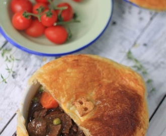 Recipe: Beef Pot Pie with Puff Pastry