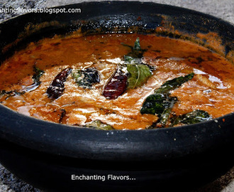 Nagercoil style meen kuzhambu / Nagercoil style fish curry