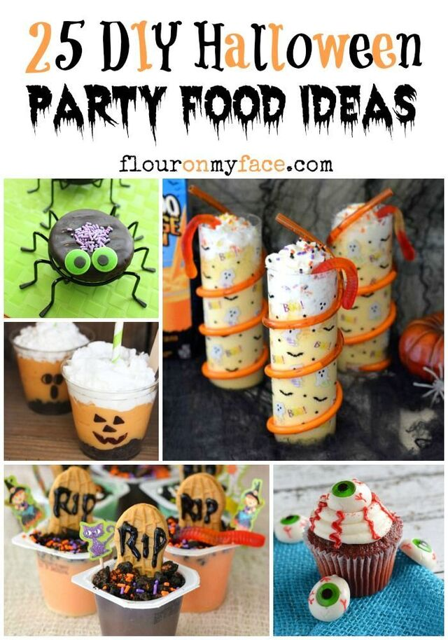 25 DIY Halloween Party Food Ideas