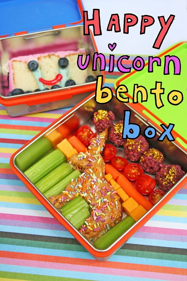 Happy Unicorn Bento Box