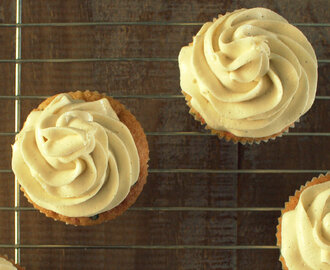 Snelle vanille botercrème frosting