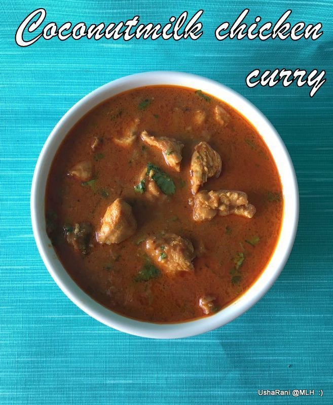 Coconut Milk Chicken Curry | Chicken Curry With Coconut Milk | Chicken Gravy For Chapathi | Easy Chicken Curry Recipes