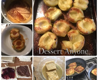 Popular Dessert - In Our House- Nutella French Toast - Bruleed Apples