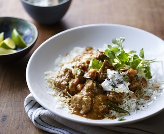 Recipe: Lamb and coconut curry