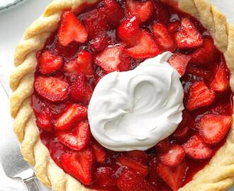Easy Fresh Strawberry Pie Recipe