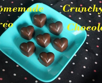 How to make Crunchy Oreo Chocolates at home/Easy Homemade Oreo Chocolates#Part 1