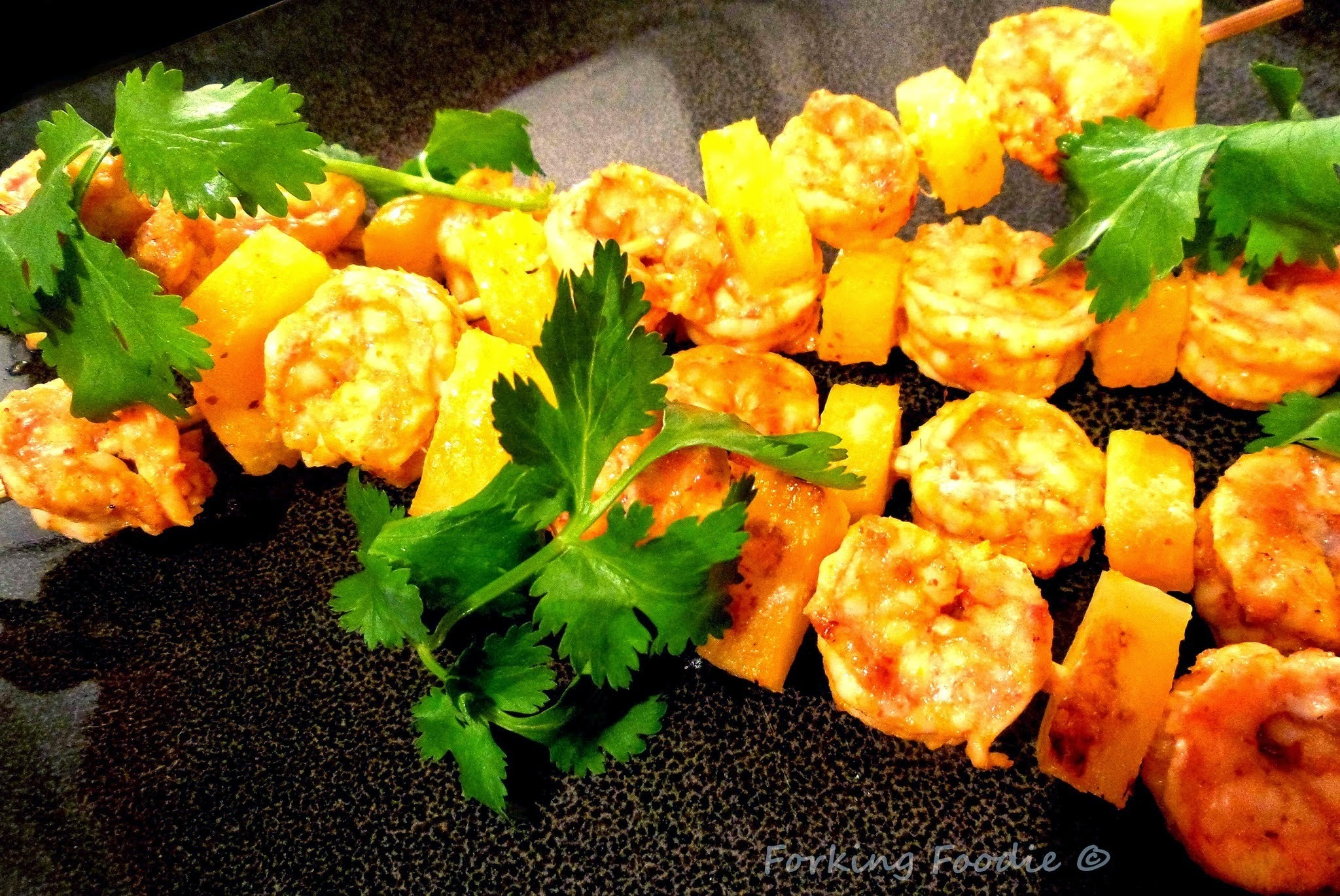 Quick Thai Prawn and Pineapple Skewers