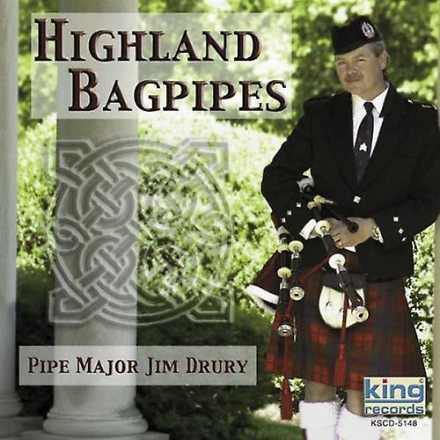 Jim Drury - Highland säckpipa [CD] USA import