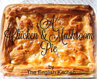 A Chicken and Mushroom Pie