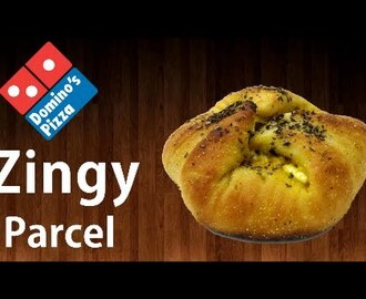 Now make ZINGY PARCEL at home like Domino's !! Simply Yummylicious..