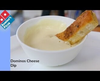 DOMINOS CHEESE DIP | Dominos Garlic Bread Part 2 - Recipe By bharatzkitchen