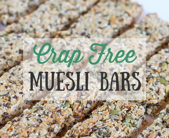 Crap Free Muesli Bars