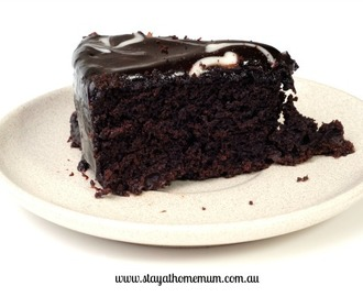 Dairy-Free Chocolate Coconut Mud Cake