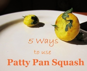 5 Gluten Free Ways to use Patty Pan Squash (Scallopini Squash)