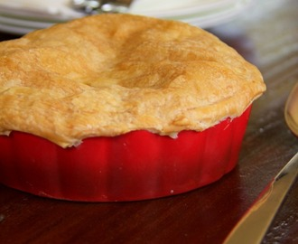 chicken and camembert pot pies