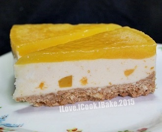 Bake Along #78 No Bake Mango Cheesecake