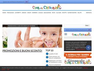 www.cosepercrescere.it