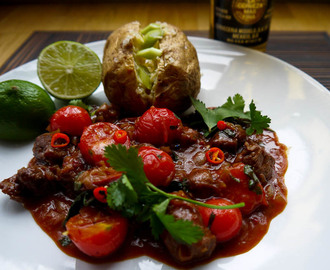 Sticky, Spicy and Smokey Chipotle Lamb Stew